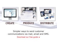 Simpler ways to send customer communications
