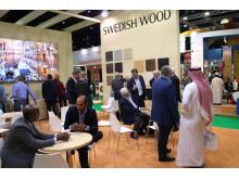 Svenskt Trä på Dubai Wood Show 2014_Bild1