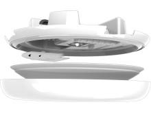Frank LED-armatur Högupplöst Teknisk 7550021, 7550023