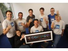 Das LinkedIn-DACH-Team feiert 4 Mio. Mitglieder