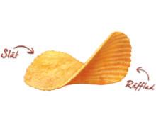 Estrella - Slät/räfflad chips