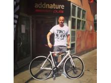Petters specialdesignade cykel