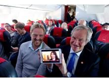 Norwegian Live TV -lanseeraus 23.11.2015