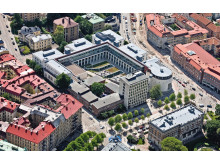 Flygbild Handelshögskolan Göteborg