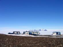 Den finska forskningsstationen Aboa på Antarktis