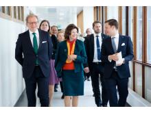 Drottningen besöker Danderyds Sjukhus 11 maj 2015