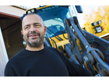 Christer Fjällström på Fjällströms Traktorarbeten har serviceavtal på begagnat