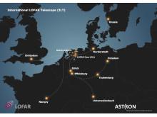 Det internationella Lofar-teleskopet