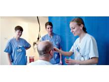 Dysfagi-sjuksköterskor på strokeenheten på Danderyds sjukhus