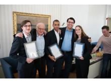 Prisutdelning Expanding Markets Award - 2
