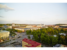 Rooftop View over Gothenburg - Clarion Hotel Post
