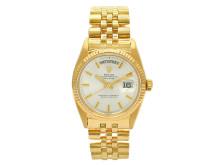 Klockkvaliten 16/5, Nr: 176, ROLEX, Oyster Perpetual, Day-Date, Chronometer, Ref nr. 1803