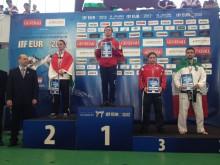 Kjell Andreas Rødal fra Fræna Taekwon-Do Klubb vant EM-gull