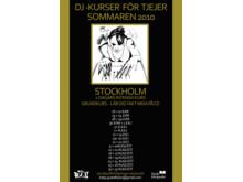 DJ-kurs för tjejer med Katja Gustafsson - affisch
