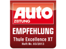 Thule Excellence XT näst bäst i tyska Auto Zeitungs årliga takboxtest