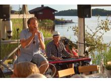 Robert Hoffman och Mats Tärnfors i Sjöboden