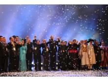 Kyrkoledare och representanter från andra religioner vid öppnandet av Kyrkornas värlsråd 2013.