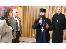 Antiokiska ortodoxa kyrkan välkomandes som ny medlem i SKR.