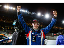 Tobias Brink Supercar-lites segrare på Solvalla 2015