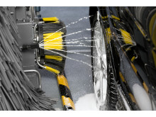 Kärcher patentert hjulvaskesystem