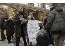 Julkampanj lansering Centralstationen