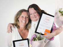 Ulrika och Anna-Maria är Årets Bröstvän 2015