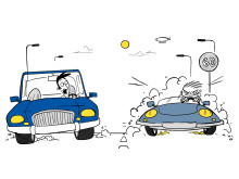 Driving personalities - The Competitor