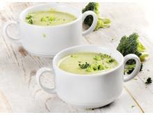 Broccolisoppa med macapulver