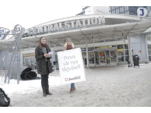 Lansering Julkampanjen 2012 Centralstationen