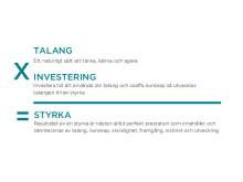Definition på styrka och talang enligt Gallup