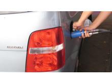 Tankning av fordonsgas