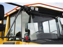 Volvo dumprar brandsläckningssystem - Volvo Fire Suppression System (exteriör)
