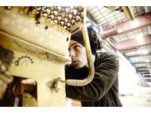 Swecon begagnade reservdelar - tekniker Dennis Olsson