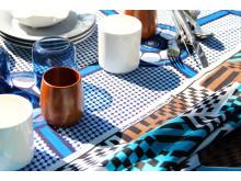 Textil i vax och blocktryck