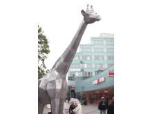 """""""Giraffen"""" - ny skulptur i Järfälla"""