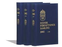 Svensk författningssamling - SFS