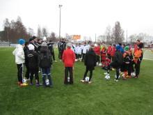 Pass 1 av 3, HuFF utbildningsprojekt med Svenska Fotbollsakademin