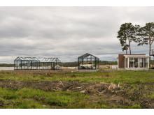 Växthus och uterum på Hornuddens Trädgård
