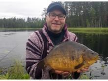 Nytt sportfiskerekord på ruda
