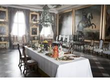 Barockbord i slottets Kungssal