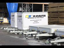 Täckta & Öppna trailers hos K-rauta i Uppsala