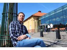 Daniel Carlberg FRI ANVÄNDNING Foto: Fabian Rimfors/Högskolan Kristianstad