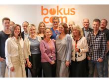 Bokus Stockholmskontor firar säljframgångar!
