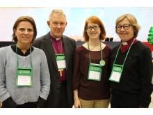 Svenskar får toppuppdrag inom Kyrkornas världsråd