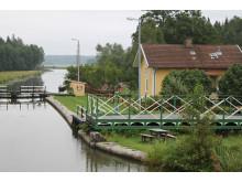 Pressbild Göta kanal - Brådtom sluss