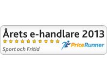 Outnorth årets e-handlare 2013 Sport och Fritid