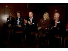 Foto från paneldebatt om cancerprevention på Världscancerdagen 2010