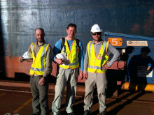 Open delighted to support the Cavotec engineering group's film project - here's the team in Western Australia.