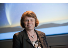 Ewine van Dishoeck, professor i astronomi vid holländska Leiden-universitetet