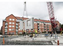 Byggstart Elins gård, Högsbohöjd